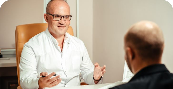 Prison GP as a Career Doctor Consulting with a Prisoner